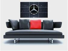 "MERCEDES Benz senza confini MOSAICO Muro Poster 35"" x 23"" auto logo"