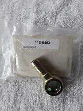 New listing 01180403 Deutz Baker-Linde Fitting Banjo bolt new