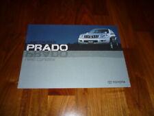 Toyota landcruiser prado folleto 01/2003 china