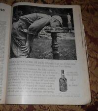 1968 Near Mint Print ad Poster Jack Daniels Folks Who Work at Jack Daniel's go