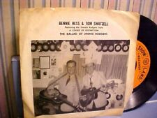 Bennie Hess - Tennessee Mama Blues + The Ballad of Jimmie Rodgers - GREAT AUDIO