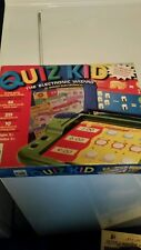 Quiz Kid Electronic Wizard Bilingual  36 Cards Sealed 215 Questions 2001 Math