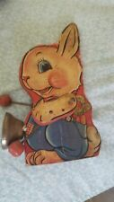 Wooden Bunny Rabbit Toy fisher price