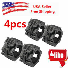 "4X Olympic&Standard 2""Weight Bar Collars Barbell Bar Dumbbell Locking Spin Clamp"