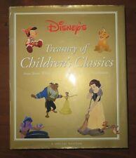 Disney's TREASURY of CHILDREN'S CLASSICS HB/DJ Great Condition