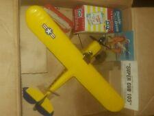 Vintage cox super cub 105 control line airplane.