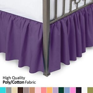 Blissford Day Bed Ruffled Bed Skirt, ( Available in 16 Colors)