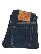 Left Field jeans Tag 31 USA selvege denim dark wash sexy denim ringspun  cotton
