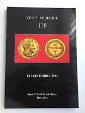 JEAN ELSEN COIN AUCTION CATALOG VENTE PUBLIQUE 118 SEP 2013 ANCIENT WORLD MEDALS