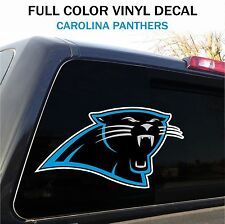 "Carolina Panthers Window Decal Graphic Sticker Car Truck SUV - 12"" wide"
