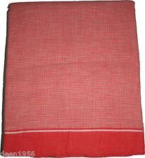 Traditional India Sacred Scarf Gamcha Angocha Tolia Towel Cotton Hand loomed