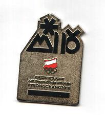 PyeongChang 2018 POLISH ATHLETE'S PARTICIPATION MEDAL - POLAND delegation plaque
