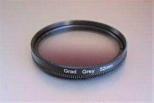 Verlaufsfilter Verlauffilter Grau 52mm