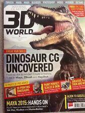 3D World Magazine Dinosaur CG Uncovered June 2014