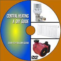 Servicio Mantener & Mejora Su Central Heating Sistema Vídeo DVD Practical Guía