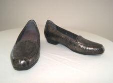 Leather Medium Width (B, M) Slim Low (3/4 to 1 1/2 in) Heel Height Heels for Women
