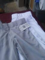 youth gray baseball pants - Colors are white or gray - Bike Allstar Wilson