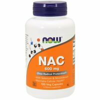 Now Foods, NAC, 600 mg, 100 Veg Capsules