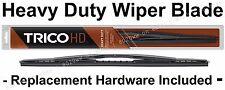 1970-1992 Mack DM DMM R U Wiper Blade - Heavy Duty Saddle Mount - Black - 63160