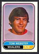 1975 76 OPC O PEE CHEE WHA #95 TOM WEBSTER NM NEW ENGLAND HARTFORD WHALERS