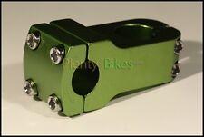 Green 25.4 Bike Bicycle Fixie 80mm Threadless Alloy Handlebar Neck Stem 836108