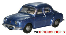 Oxford 76RD003 Renault Dauphine Metalic Blue 1/76 Scale = 00 Gauge New -T48 Post