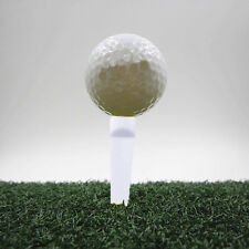 10pcs Plastic Wedge Golf Tees 70mm Shocking White Golf ball sport  Pop