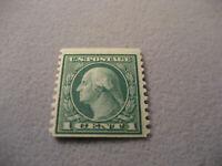 US Stamp Scott #452 1c MH OG