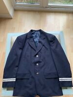 Real Norwegian Airlines Crew Pilots Mens Uniform Jacket -VGC. Medium Size Fit.