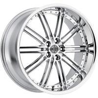 20x10 Chrome Wheel 2Crave N33 5x115 20