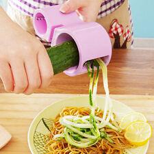 Vegetable Fruits Spiral Slicer Cutter Grater Carrot Peeler Kitchen Tool Sharpen