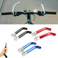 2 pcs Bicycle Aluminum Alloy Handlebar Ends Mountain Bike Handle Bar Ends 22.2mm