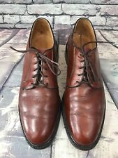 O'Sullivan Lace Up Pebbled Leather Oxford Dress Shoes BROWN - Size 10