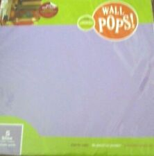 "WALL POPS decals 5 13""  BLOX PURPLE PERK SQUARE 13 x13 Wall Decor NIP"