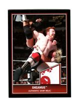 WWE Sheamus 2013 Topps Best of WWE Event Used Shirt Relic Card Red & White