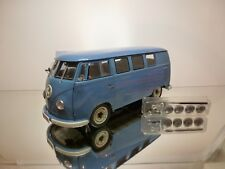 SUN STAR 5061 VW VOLKSWAGEN T1 KOMBI 1957 - BLUE 1:12 - EXCELLENT CONDITION