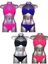 No Pattern Bandeau Unbranded Regular Swimwear for Women