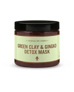 Green Clay & Gingko Detox Face Mask by Jacqueline Evans Organic Natural