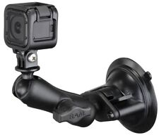 RAM Windshield Dash Suction Cup Mount with Custom GoPro Hero Adapter