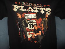 Rascal Flatts 2011 Concert Tour T Shirt Size Small S Black