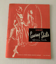 Vintage Singer Sewing Skills Reference Book 1955