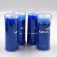 400 Pcs Dental Micro Brush Disposable Materials Tooth Applicators 2.5mm Large
