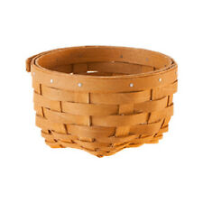 Longaberger Little Things Basket and protector Warm Brown NEW ON HAND RETIRED!!