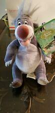 "Disney Store The Jungle Book Plush Stuffed Toy Baloo 7""  Bear NWT"