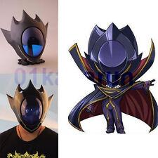 Anime Code Geass Lelouch Zero Helmet mask Cosplay FRP Props Halloween Comic Con