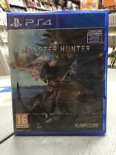 Monster Hunter World Ita PS4 NUOVO SIGILLATO