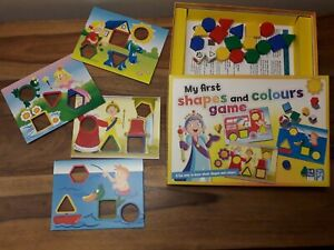 My First Shapes And Colours Game