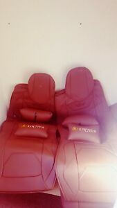 Leather car seat covers full set