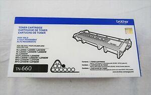 Brother Genuine TN660 High Yield Black Toner Cartridge HL-L2300D/L2305W/2315DW