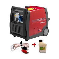 Gruppo elettrogeno generatore di corrente Honda EU30i HANDY + olio + cavetto 12V